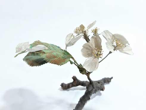 金属 造形 植物 花 タンポポ アート 作品 鈴木祥太