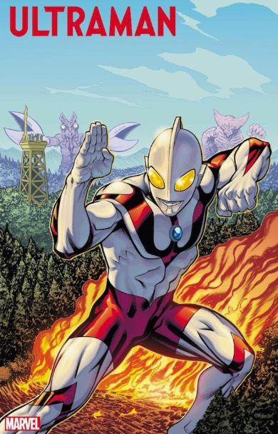 THE RISE OF ULTRAMAN マーベル・コミックス ウルトラマン バルタン星人 ゴモラ