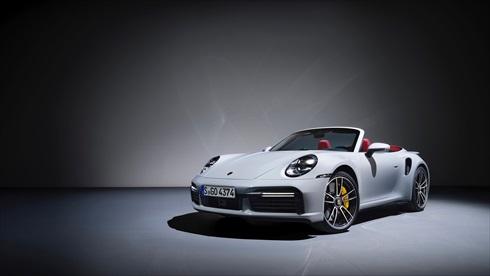 ポルシェ「911 ターボS カブリオレ」