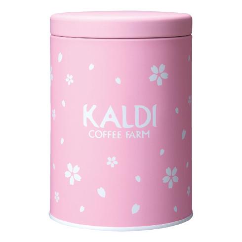 カルディ春のキャニスター缶セット
