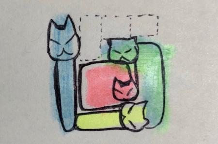 猫テトリス図解