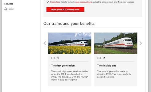 海外 鉄道 高速鉄道 新幹線 塗装 先頭車 ドイツ ICE
