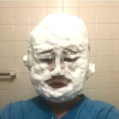 洗顔ものまね 泡 有名人 顔マネ 杉浦由梨 藤田ニコル 千原ジュニア