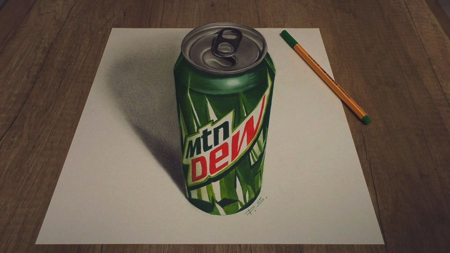 リアルな3Dアート