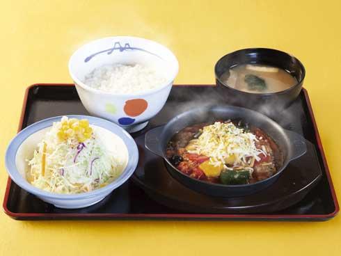 松屋 カチャトーラ定食 新発売 イタリア料理 世界紀行シリーズ 第2弾