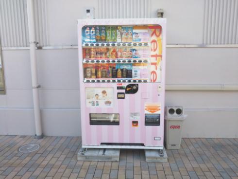ベビー用紙おむつの自動販売機