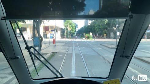 路面電車 トラム 海外 YouTube リオ 架線レス オリンピック LRT