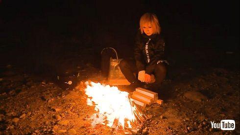 ゴールデンボンバー 鬼龍院 翔 たき火 焚火 たき火 1時間