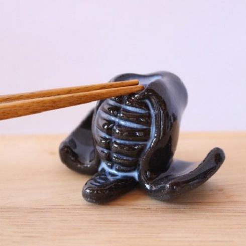 剣道のメン&コテ箸置きセット
