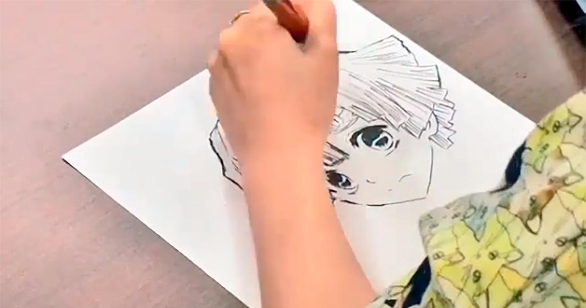中川翔子 きめつのやいば イラスト