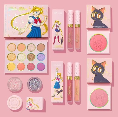 Colour pop × Sailor moon