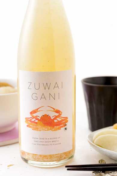 ズワイガニ お酒 ホット専用 海鮮系リキュール ZUWAIGANI KURAND クランド