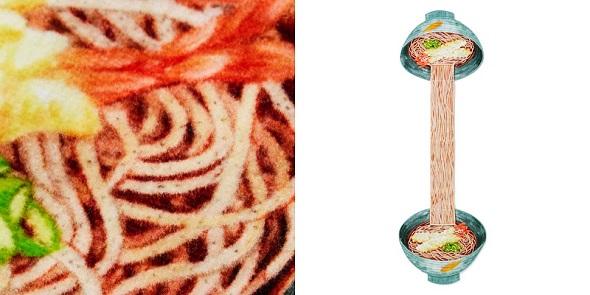(フェリシモの「麺タオル」が登場)