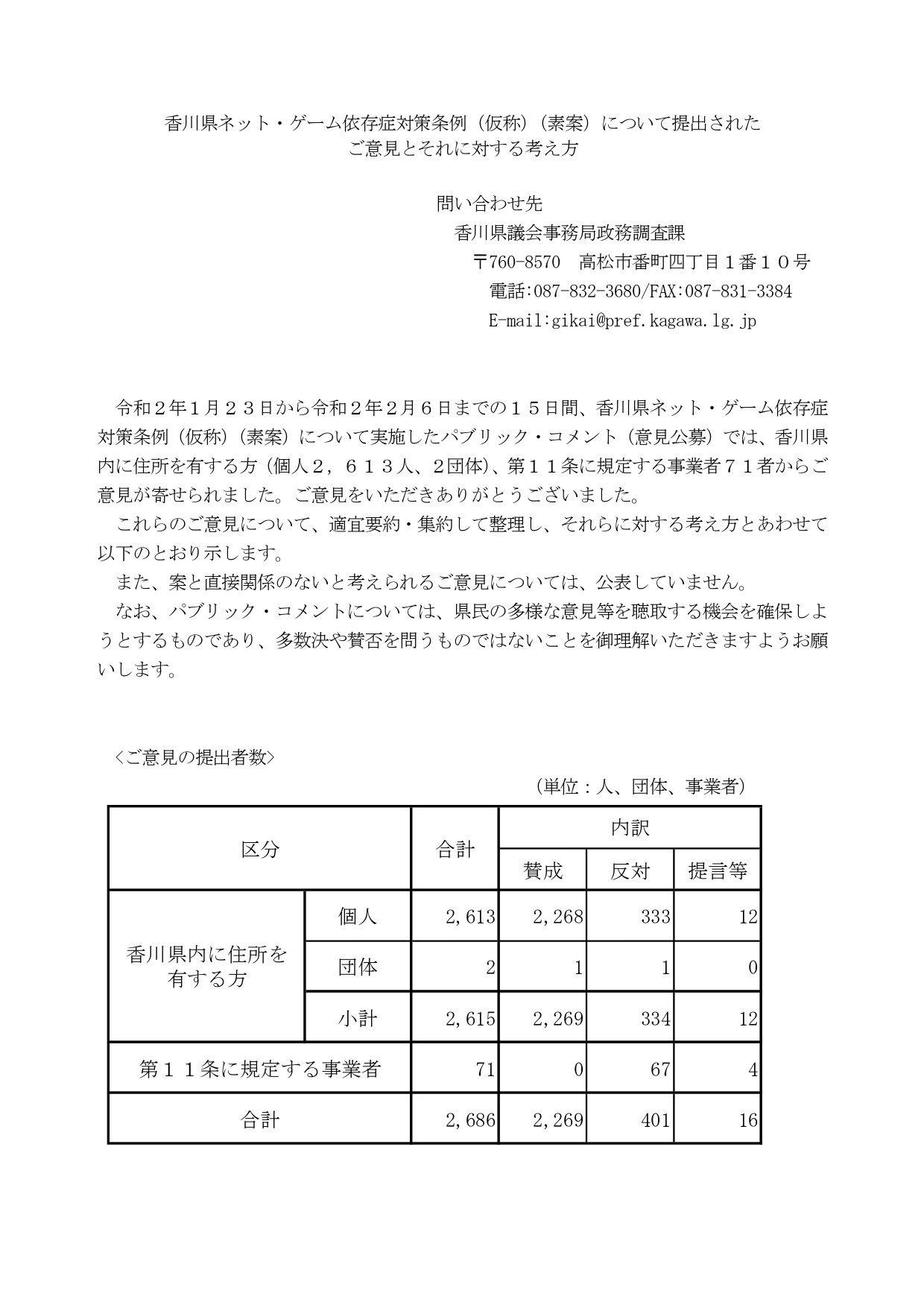 【香川ネット・ゲーム規制条例】知事は再議求めず 「必ずしも香川県のイメージが低下したとは思わない」