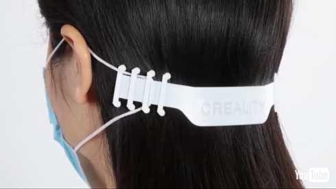 Creality 中国 3Dプリンタ マスク用 バックル 開発 データ 公開 ダウンロード
