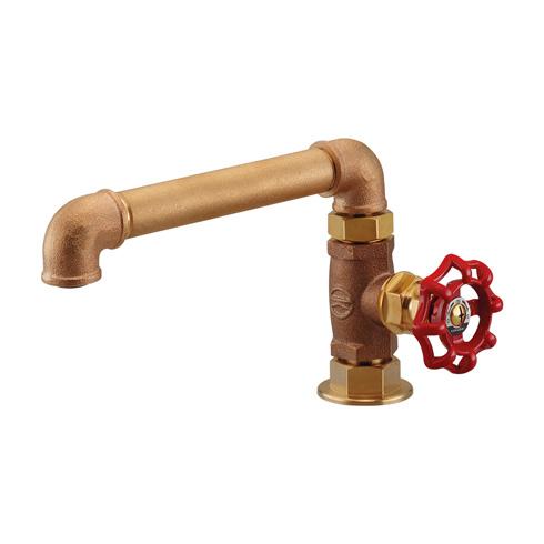 「厨房用立形自在水栓」