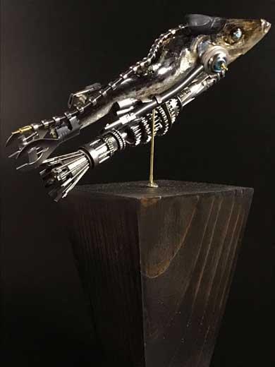 煮干し アート 空想世界 生物兵器 スター魚ーズ デザインフェスタ 51 中止 出展予定 作品