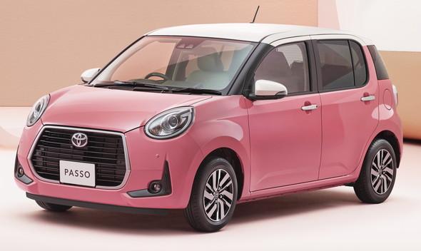 パッソ ピンク 特別仕様車
