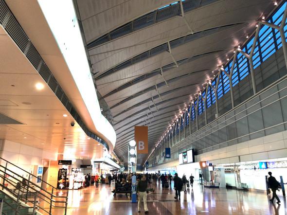 平常時の羽田空港第2ターミナル