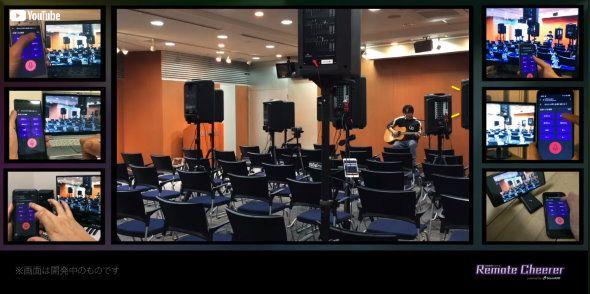ヤマハ ドワンゴ 生放送 ニコニコネット超会議2020 Remote Cheerer powered by SoundUD