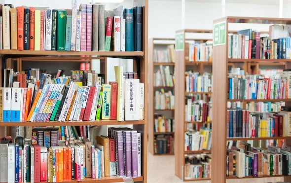 図書館閉室
