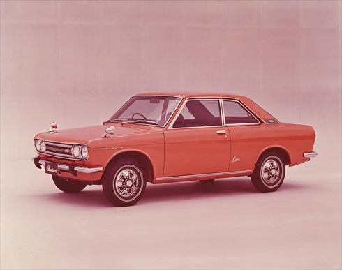 ブルーバードSSS(510型)(写真:日産自動車、以下同)