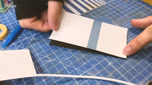 ふすまを印刷したところ
