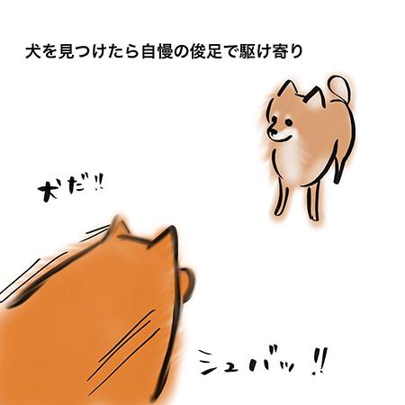 嫌われる犬漫画2