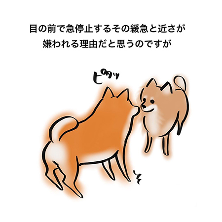 嫌われる犬漫画3