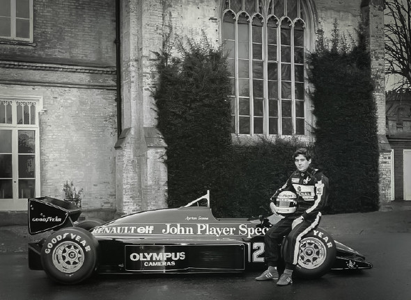 アイルトン・セナ ロータス F1