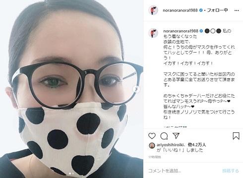 平野ノラ マスク