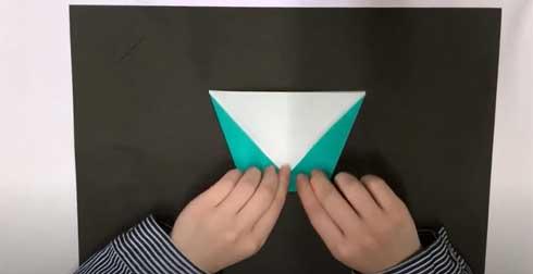 折り紙ヒコーキ 折り方 遊び方 キャステム コロナウィルス 的