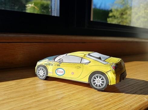 トヨタ ペーパークラフト