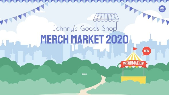 Johnny's goods shop MERCH MARKET 2020