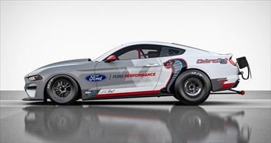 フォード「マスタング コブラジェット1400」のサイドビュー