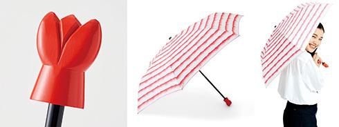 揚げたてサクサクの衣に仕上げた「意外とおしゃれなエビフライ折りたたみ傘」が登場