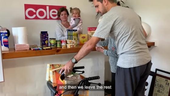 自宅でスーパーマーケット 動画
