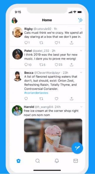 twitter 返信 リプライ 階層 テスト iOS Web