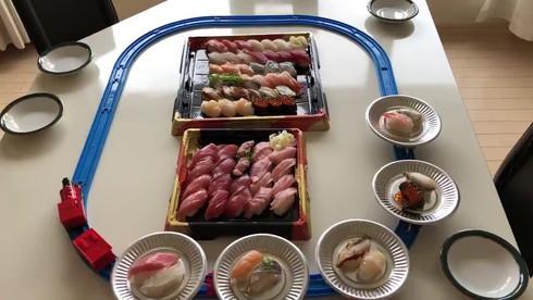 プラレール 回転寿司