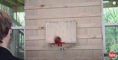 ほぼ確実にシュートが決まるバスケゴール開発 「買いたい」と驚嘆する人が続出