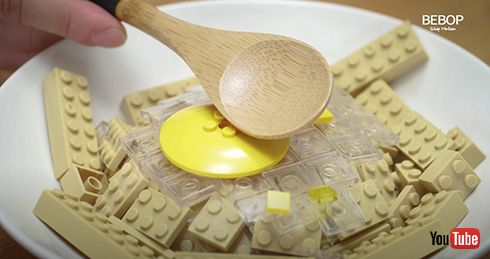 レゴパンケーキのストップモーション 優雅にパンケーキを焼く様子に「リアルだ」「かっこいい」
