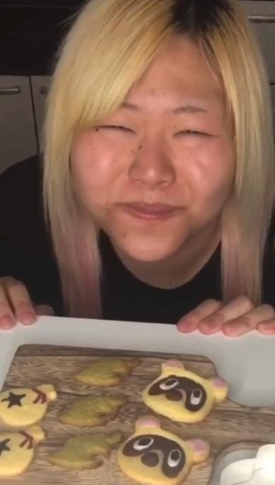 世志琥 クッキング どうぶつの森 たぬきち クッキー Twitter