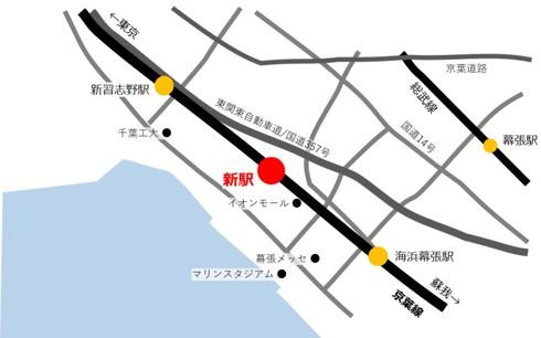 京葉線 新駅