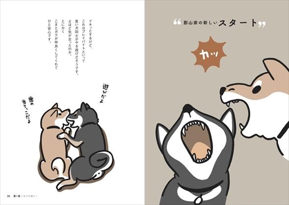 福と幸せをよぶ妖怪さんと柴犬さん
