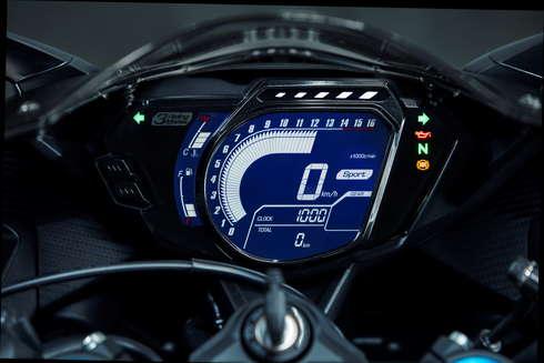 CBR250RR 新旧対決 加速