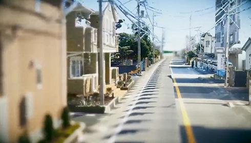 点で表示した静岡県の風景がゲームみたいで不思議 「ハテナ飛びまくりだけど興味津々」「よくわからないけどすごい」