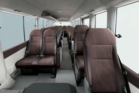 コースター バス PREMIUM CABIN