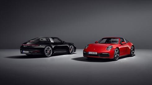 ポルシェ「911 タルガ4S」(左)「911 タルガ4」(右)