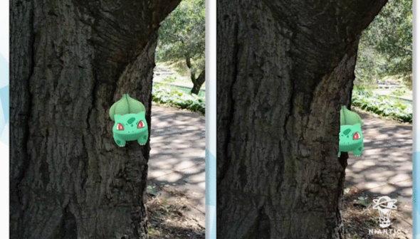 Pokemon GO ARブレンディング ポケストップスキャン Niantic