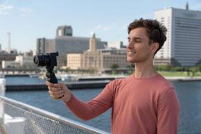 自撮りカメラ